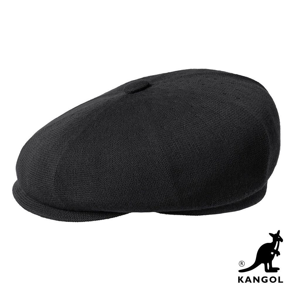 KANGOL -BAMBOO HAWKER 鴨舌帽 - 黑色