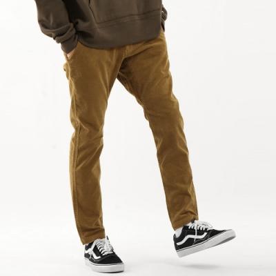 ZIP日本男裝 GERRY燈芯絨錐形褲休閒登山長褲(3色)