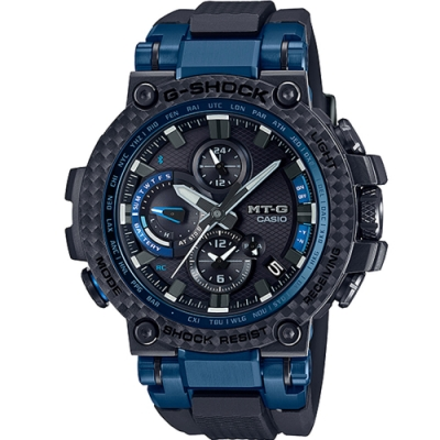 CASIO G-SHOCK MT-G系列碳纖維藍牙電波錶(MTG-B1000XB-1A)