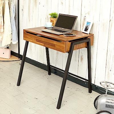 澄境 工業風掀蓋收納電腦桌/工作桌/書桌80x50x76cm-DIY