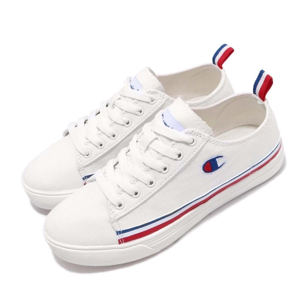 Champion 休閒鞋 Canvas C 低筒帆布鞋 女鞋