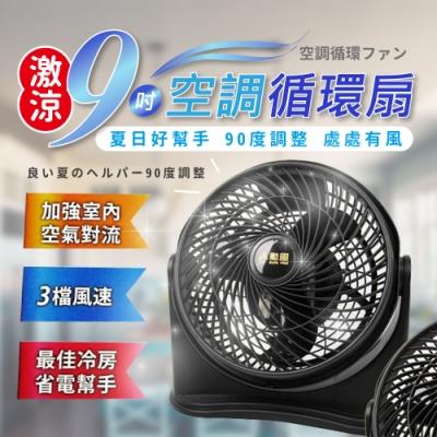 SUPA FINE勳風 9吋 3段速空調循環扇 HF-7658