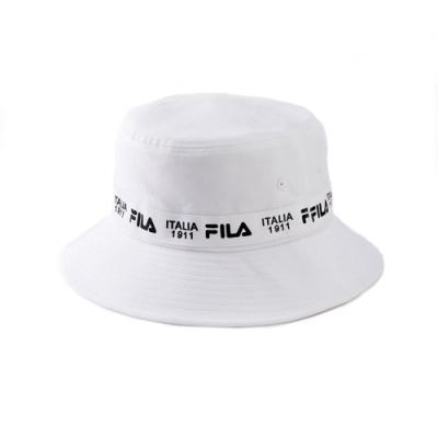FILA 時尚筒帽-白 HTV-1204-WT
