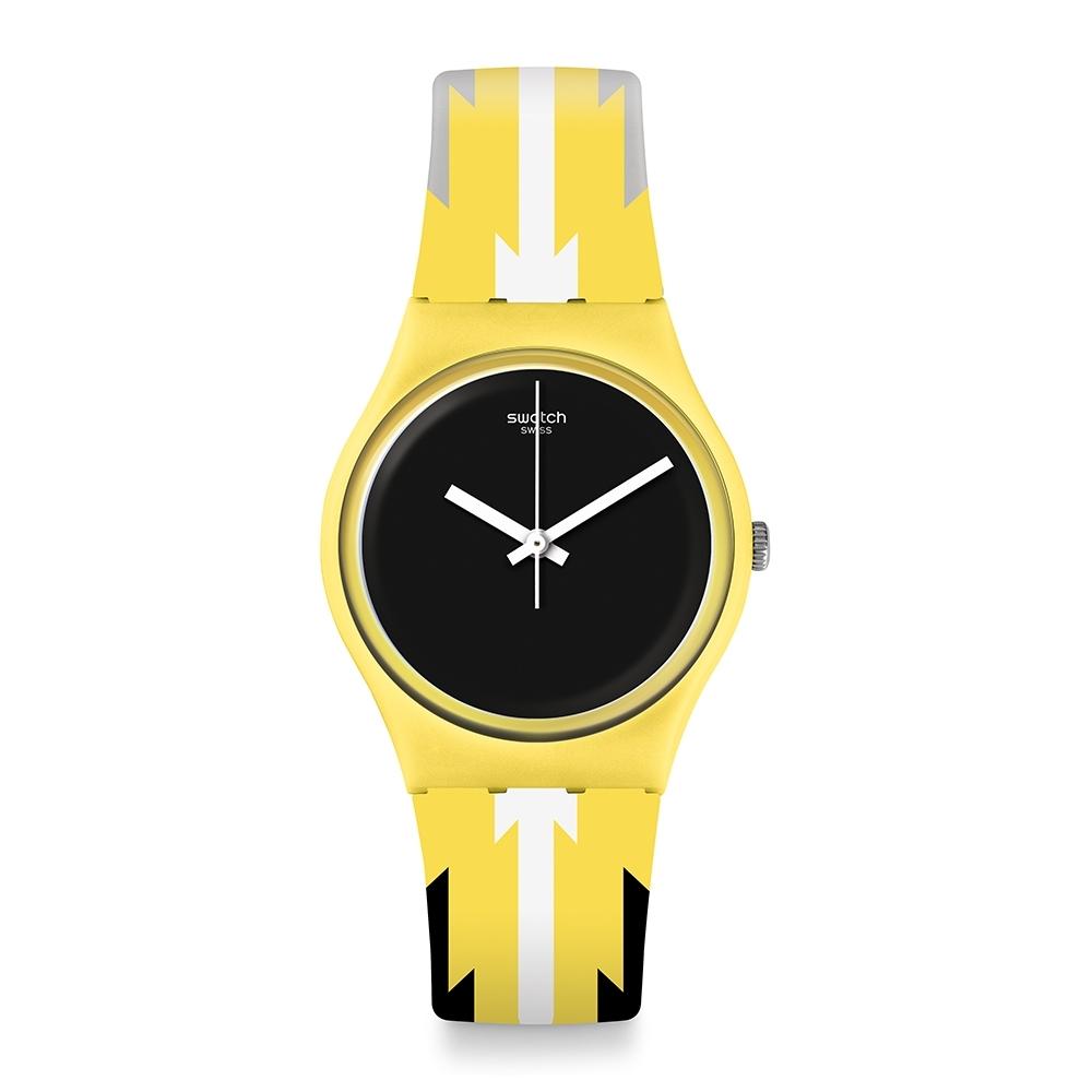 Swatch  I love your folk系列手錶 IMALA 非洲圖騰 -34mm
