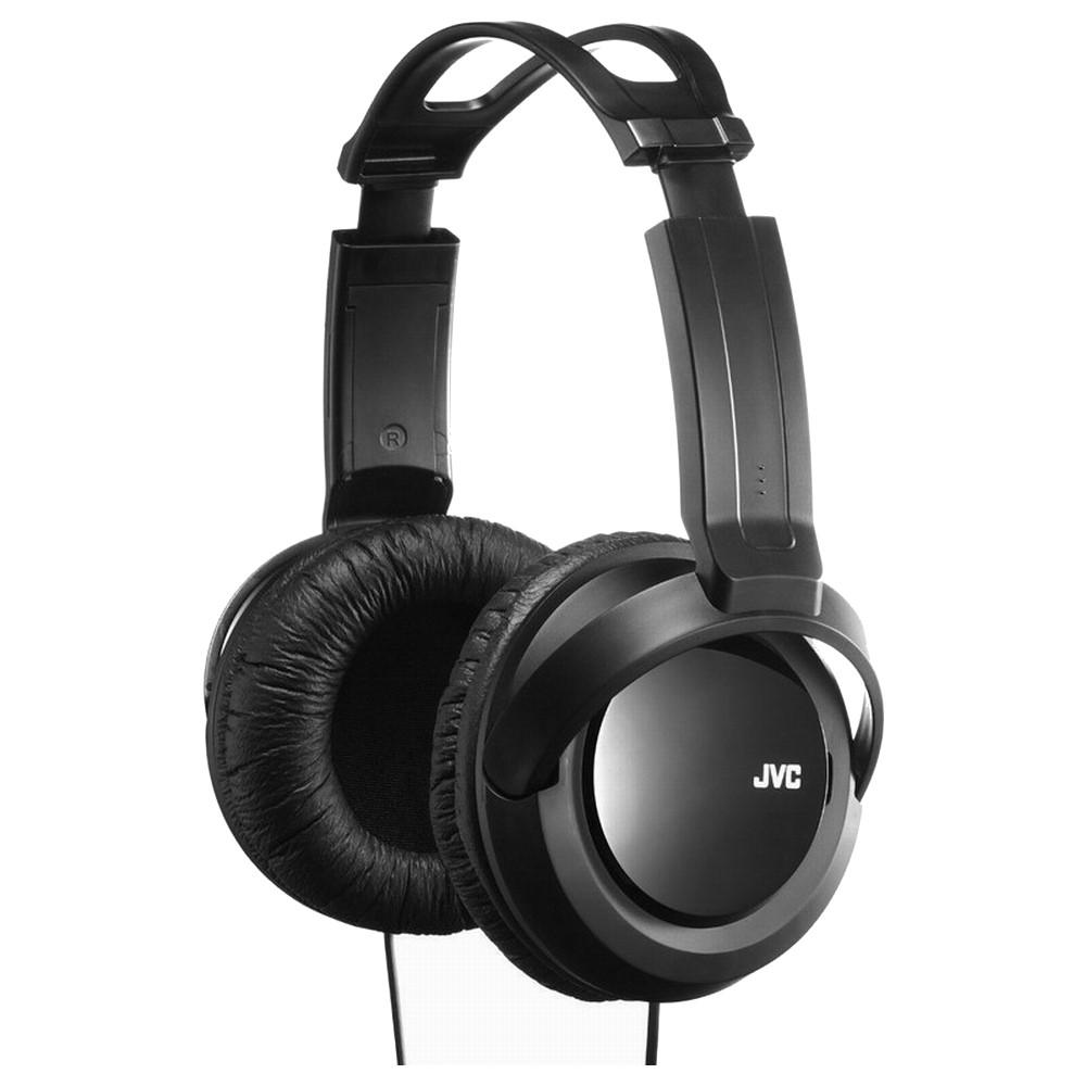 JVC重低音頭戴式耳機HA-RX330送百元耳機