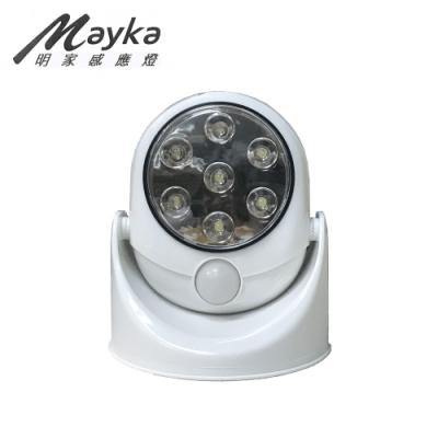 明家 Mayka GN-7001 360度旋轉照明人體感應燈