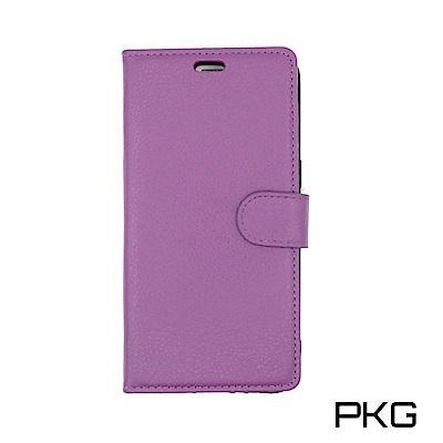 PKG OPPO R11S 側翻式皮套-經典皮套系列-紫