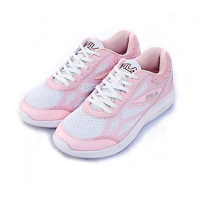 FILA女慢跑鞋-粉 5-J902S-511