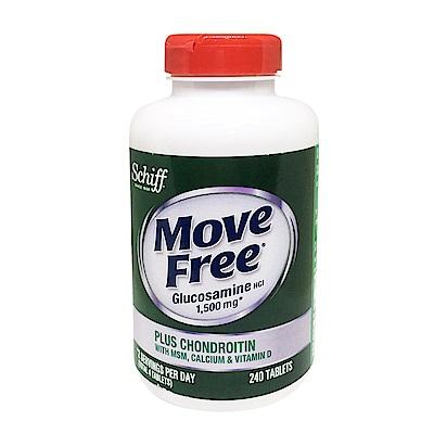 Move Free 葡萄糖胺+軟骨素+MSM+維生素D+鈣錠 240錠