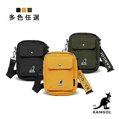 KANGOL 韓版潮流休閒直式側背包 6955