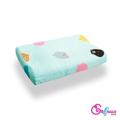 Embrace英柏絲 天然 乳膠嬰兒枕 工學枕 動物小星球 適合6個月以上Baby使用
