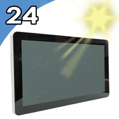 【Nextech】24吋 室外型 All-in-One 觸控電腦(Celeron N4200)