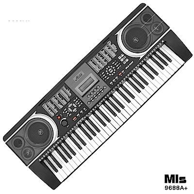 [時時樂限定]進階版專業61鍵電子琴+琴袋(MLS-9688A)