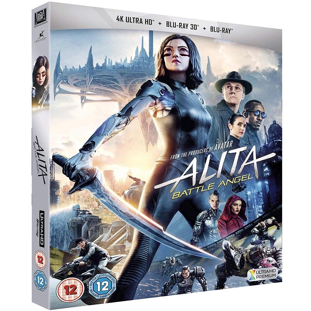 艾莉塔:戰鬥天使 4K UHD ALITA BATTLE ANGEL