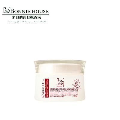 Bonnie House 頂級玫瑰果防皺淡斑精華日霜30ml