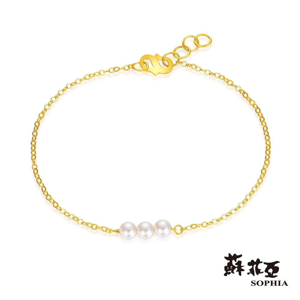蘇菲亞SOPHIA - G LOVER系列珍愛黃金手鍊