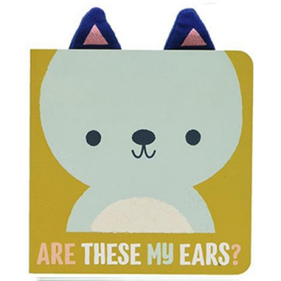 Are These My Ears? 這是小熊的耳朵嗎?硬頁書