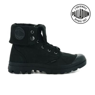 PALLADIUM PAMPA BAGGY NBK反摺皮革靴-中性-黑