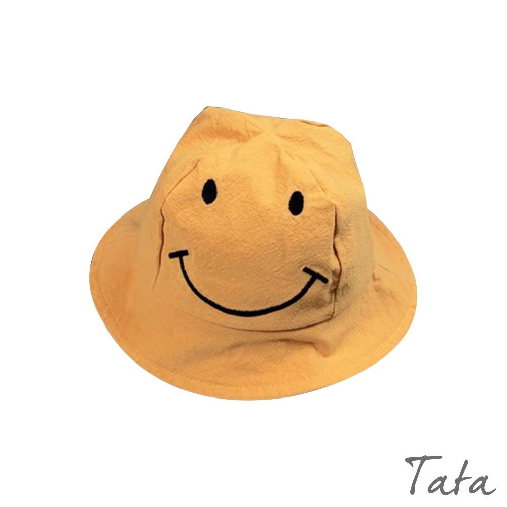 童裝 笑臉刺繡漁夫帽 TATA KIDS