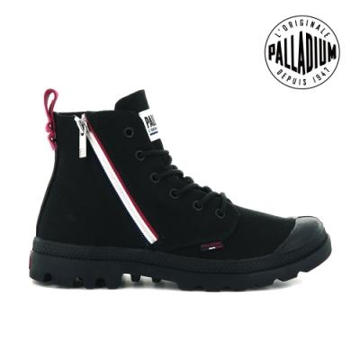 PALLADIUM PAMPA FRENCH OUTZIP法國拉鍊軍靴-中性-黑