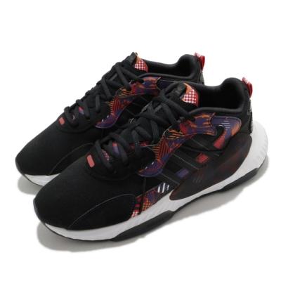 adidas 休閒鞋 Hi-Tail 復古 老爹鞋 男鞋 愛迪達 三葉草 新年 福 穿搭推薦 黑 紫 H69047