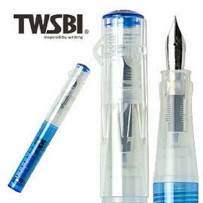 台灣三文堂 鋼筆 TWSBI GO 藍色EF 尖