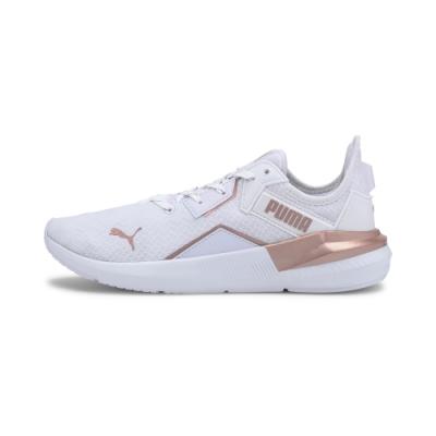 PUMA-Platinum Metallic Wns 女性訓練運動鞋-白色