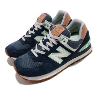 New Balance 休閒鞋 574 Beach Cruiser 女鞋 紐巴倫 經典款 舒適 簡約 球鞋 穿搭 藍 綠 WL574BCMB