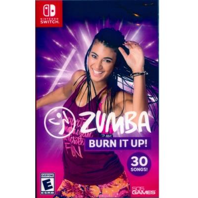 拉丁有氧舞蹈健身 Zumba:Burn It Up! - NS Switch 中英日文美版