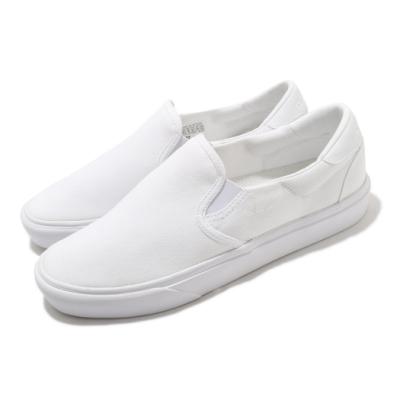 adidas 休閒鞋 Court Rallye Slip 男女鞋 愛迪達 輕便 簡約 情侶穿搭 套腳 全白 FY4550