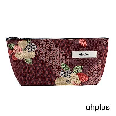 uhplus Q-plus萬用收納包- 小町日和(紅)