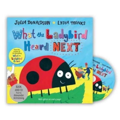 What The Ladybird Heard Next 小瓢蟲聽到了什麼?續集CD故事書