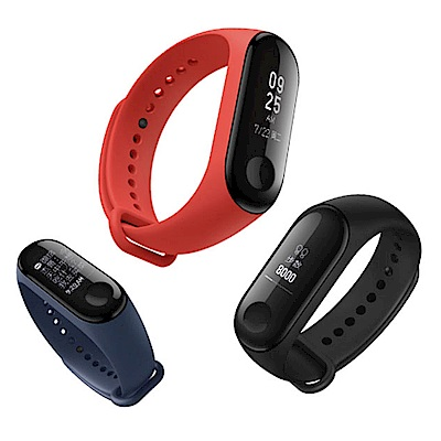 小米手環3 腕帶 替換帶 液態硅膠 錶帶 運動智能錶帶 防水防丟