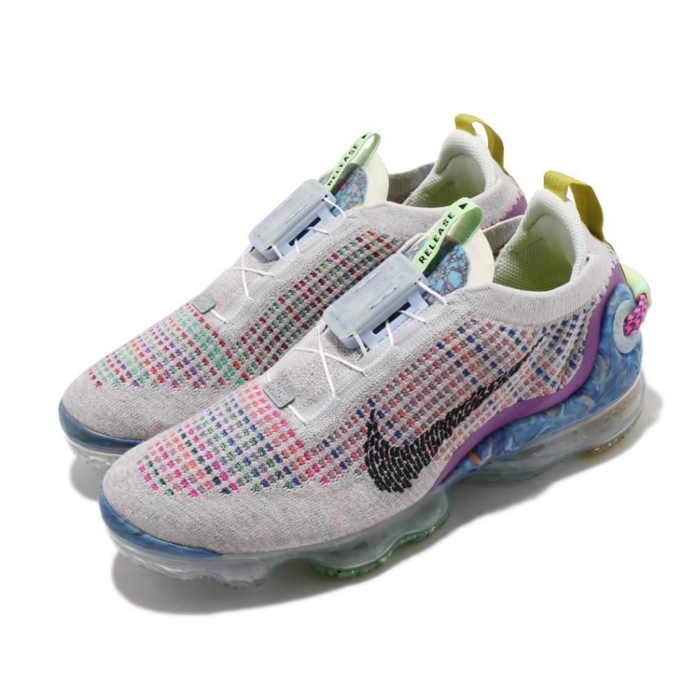 Nike 慢跑鞋 Air VaporMax 2020 男鞋 大氣墊 再生材質 環保理念 緩震 穿搭 彩 黑 CJ6740001