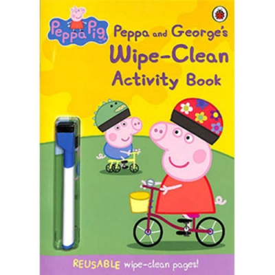 Peppa And George s Wipe-Clean Activity Book 活動書