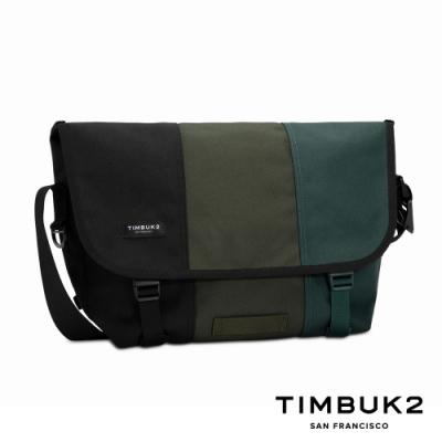 Timbuk2 Classic Messenger 13 吋經典郵差包 - 墨綠拚色