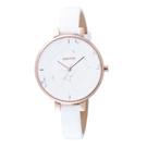 GOTO 都市時尚大理石圖樣腕錶-白(GL5040L-42-241)/36mm