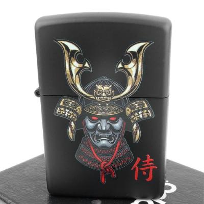 ZIPPO 美系~Samurai Helmet-侍-武士頭盔設計打火機