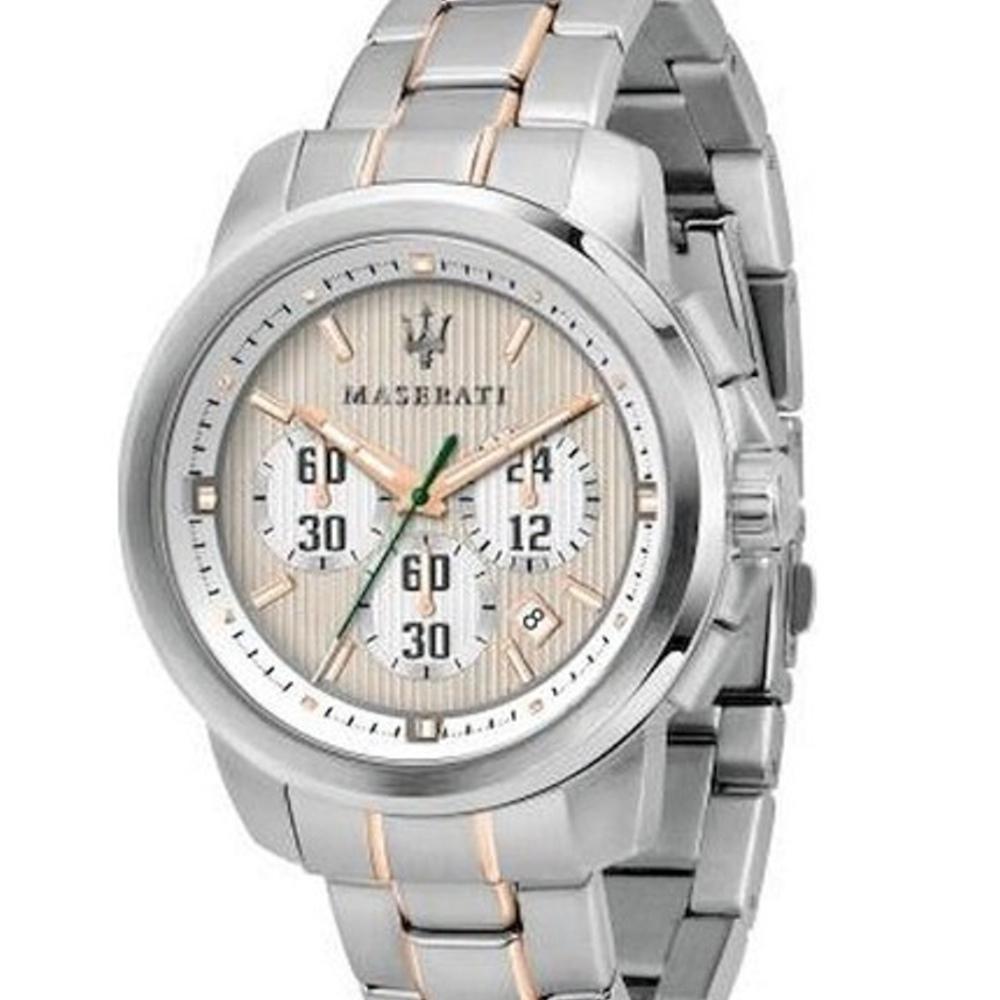 MASERATI TIME 瑪莎拉蒂/ACTIVE POLO三眼計時腕錶 R8873637002