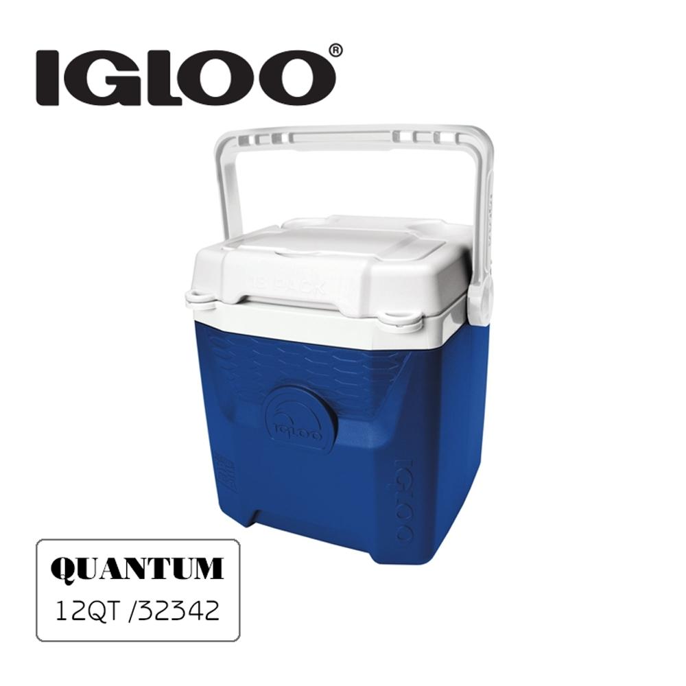 IgLoo QUANTUM系列12QT冰桶32342 | 藍色