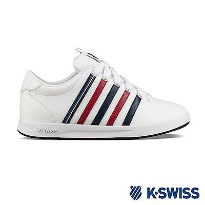 K-SWISS Court Pro S CMF時尚運動鞋-女-白/藍/紅