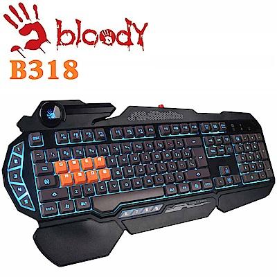 【A4 Bloody血手幽靈】八光軸電競鍵盤 - B318