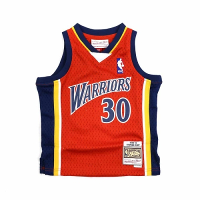 M&N 幼兒 G1 Swingman復古球衣 勇士隊 09-10 Stephen Curry #30