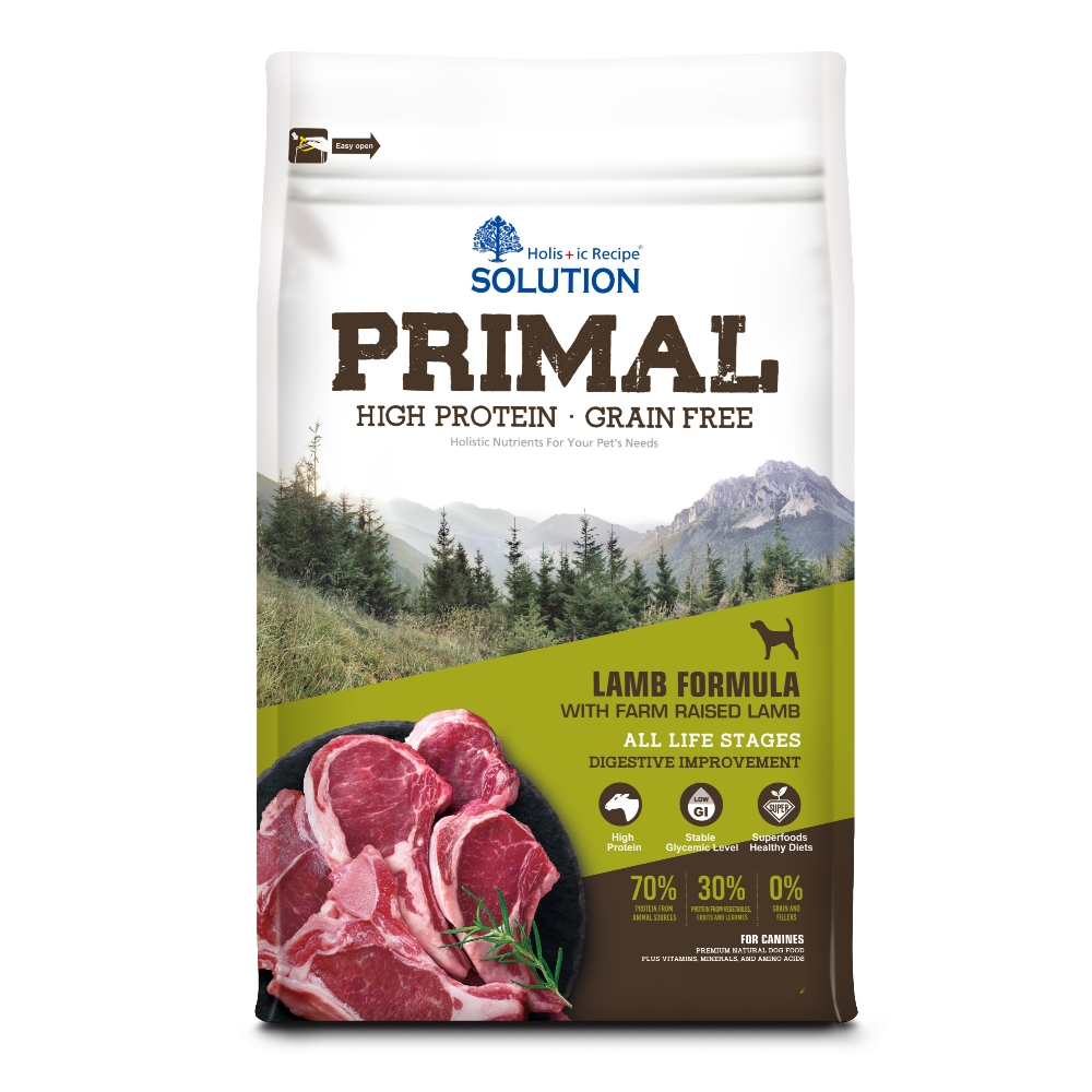 耐吉斯 源野高蛋白 無穀全齡犬 羊肉配方 3磅