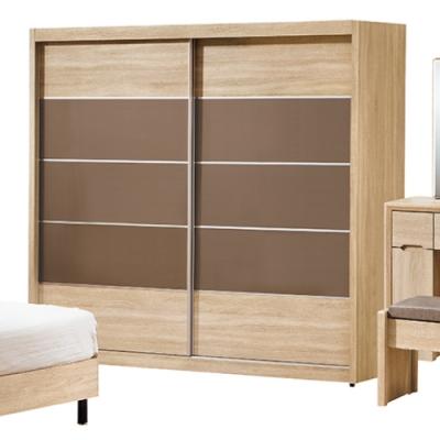 AS-芭杜7尺衣櫥(不含拉鏡)-211.5x61x197cm