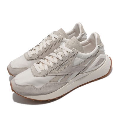 Reebok 休閒鞋 CL Legacy AZ 復古 運動 男女鞋 鞋面異材質拼接 情侶穿搭 橡膠底 淺卡其 G55275
