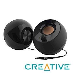 CREATIVE Pebble USB 2.0 桌上型喇叭(黑)