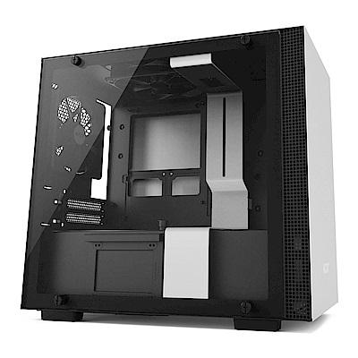 NZXT【H200】玻璃透側 ITX電腦機殼《白》