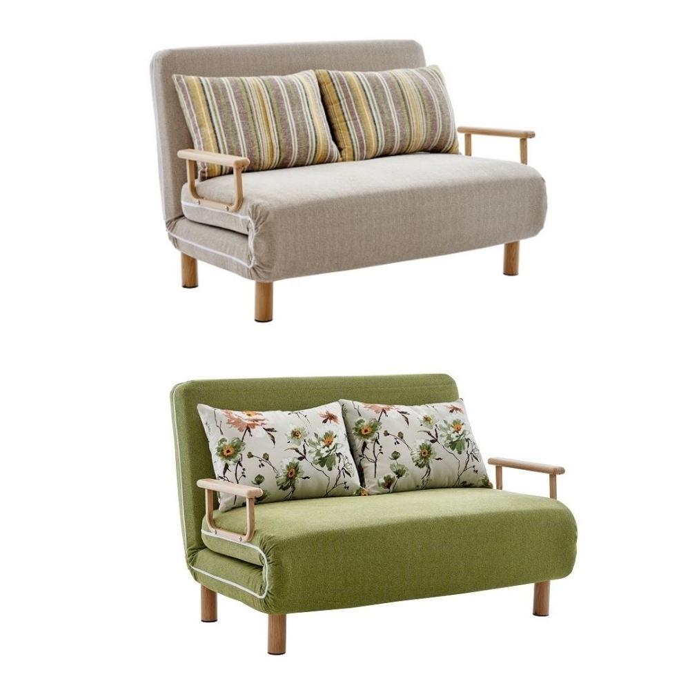MUNA 克萊雙人布沙發床-兩色可選  134X83X87cm