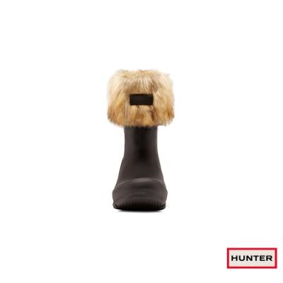 HUNTER - 配件 - 小童毛毛高筒襪套 - 棕